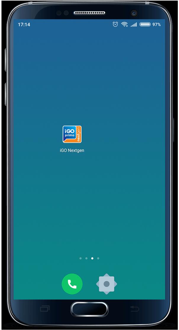 android icone - Manual de Instalação do Cartão - iGO NextGEN