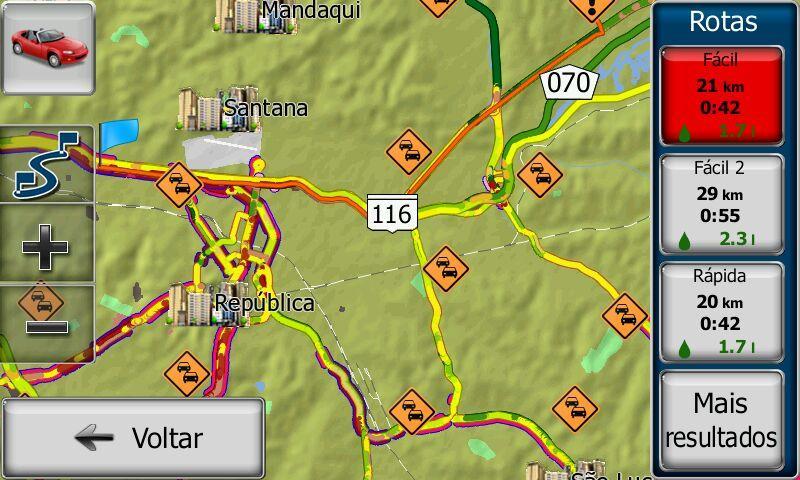 rotas alternativas gps igo 02 - ATUALIZAR GPS | Como verificar rotas alternativas no GPS iGO