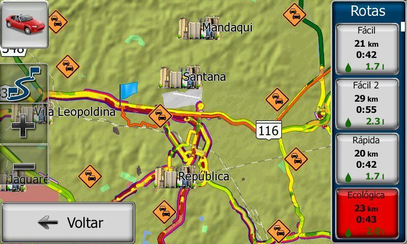 rotas alternativas gps igo 03 - ATUALIZAR GPS | Como verificar rotas alternativas no GPS iGO