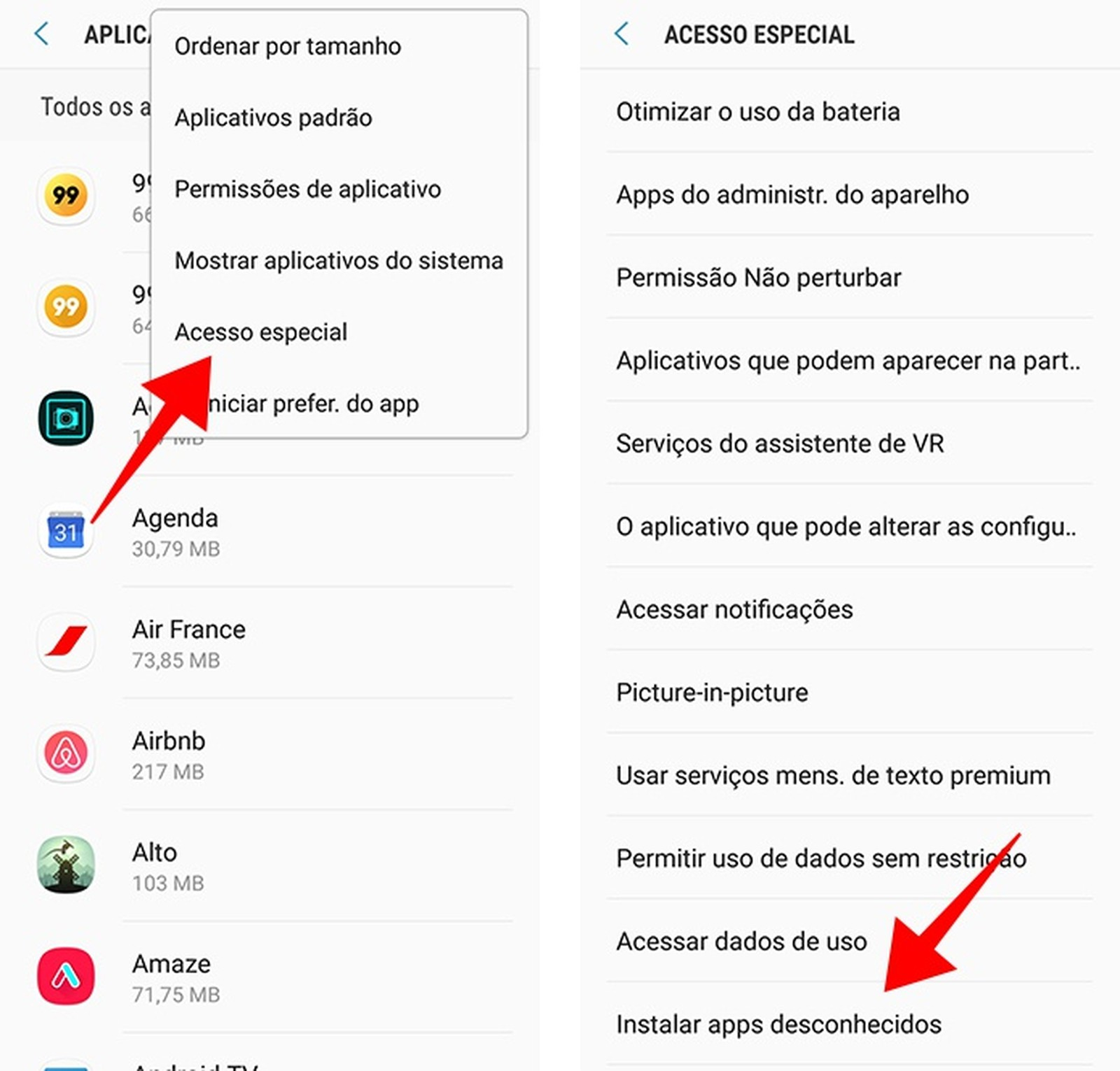 android8 settings 02 - DICAS | Atualizei o Android e meu GPS iGO parou de funcionar