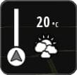 botao clima 01 - TUTORIAL | Navegador iGO com aviso Meteorológico