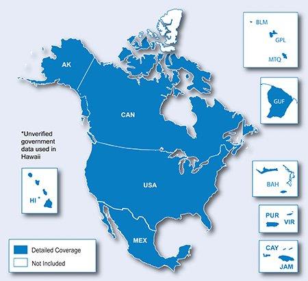 cm md - Atualização GPS Garmin América do Norte