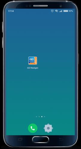 android icone okswuxwbuc9gbiv7qdrbvrhdc9faqe89yqdyz2i6m8 - Manual de Instalação - iGO NextGEN