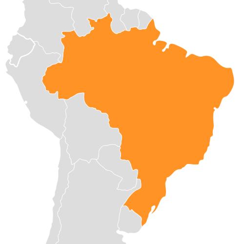 mapa brasil - Mapa do Brasil para GPS iGO